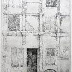 In der Altstadt von Vichy // 20 x 27cm