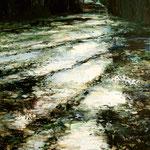 Winterlicht - Winterschatten // 120 x 60 cm // verkauft
