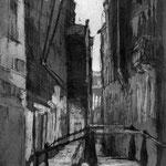 Venedig bei Nacht // 16 x 25cm