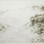 Dünenlandschaft an der Ostsee // 30 x 19,5cm