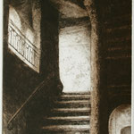 Treppenhaus in Lyon // 15 x 19,5cm