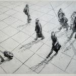 Die Taschenträger // 40 x 30cm
