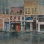 Straße zum Croix Rousse // 180 x 60cm // verkauft