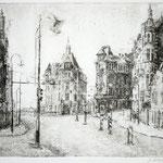 Am Körnerplatz, Dresden // 22 x 18cm