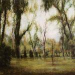 große Parklandschaft // 150 x 120cm // verkauft