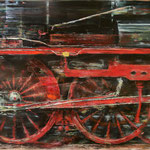 Traum vom Fahren II // 100 x 70cm // Ankauf DB Museum