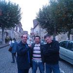 Notre trio d'enfer dans les rues de St emillion