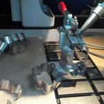Laserschweissvorrichtung für Ausstechformen