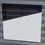 weiße Solarmodule