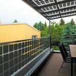 Balkon Photovoltaik Geländer