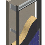 Solarfassaden Haltesystem