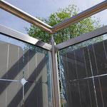 Geländer mit Solar