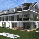 Solar Fassade & PV Balkon