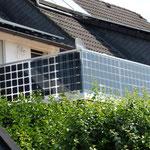 Photovoltaik im Geländer