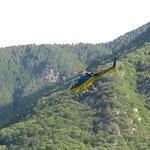 Partenza da S. Vittore per l'Alp de Martum