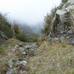 Dalla Bocchetta Valstorna verso l'Alpe d'Aian