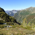 Verso la Val Pincascia