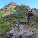 Croce a 2387 m
