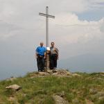 Cima di Medeglia 1260 m (peccato per la vista zero!!)