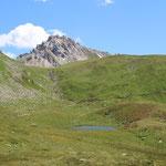 Lago della Segna e Pizzo Colombe Campanitt