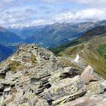 Vista dal Pizzo Caslett 2293 m