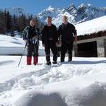 Chico, Luciano e io all'Alpe Cadonigo 1788 m
