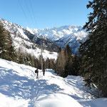 Sul sentiero Ronco di Gualdo - Cap. Bovarina