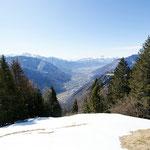 Panoramica dall'Alpe di Stabbiello