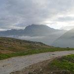 Alpe di Cava 2005 m, il tempo non promette bene ma partiamo ugualmente