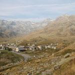 Monte Spluga 1905 m dal sentiero per il Lago Azzurro
