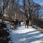 Sentiero per l'Alpe Agario