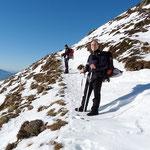 Verso l'Alpe Pietrarossa