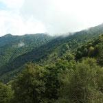 Verso il Monte Crocione