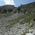 Discesa verso l'Alp de Naucal (Gagnon de Naucal)