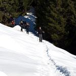 Arrivo all'Alp de Martum (Rifugio) 1845 m