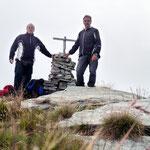 Luciano e io sulla Cima di Negrös 2182 m