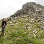 Bocchetta Alta 2535 m