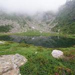 Lago del Starlaresc da Scimarmòta 1856 m