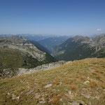 Panoramica dal Piz Giümela
