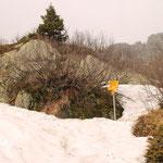 ... a 1957 m decidiamo di ritornare ... troppa neve ... e nebbia