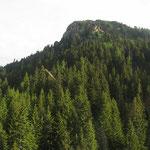 Siamo quasi all'Alpe di Martum