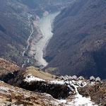Monte del Corgell e Lago di Vogorno