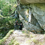 Sentiero per l'Alpe Càuri