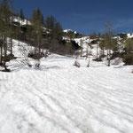 ... c'è ancora molta neve