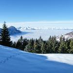 Dall'Alpe Croveggia verso Locarno