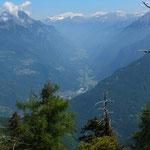Verso la Val Mesolcina