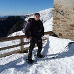 Mettiamo le racchette all'Alpe Pietrarossa