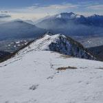 Cimetta d'Orino durante la discesa dalla cresta del Morisciolo