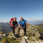 Sulla cima più alta (senza nome) 2316 m