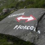 Sentiero Lago Caprara - Forcola